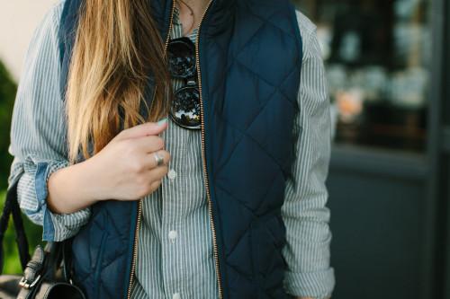 Пара теплых жилеток – то, что нужно в холода