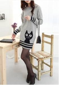 кот вязание