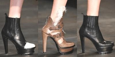Осенняя обувь 2016