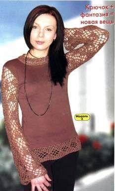 Блузка фантазия размер: 36