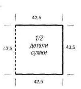 Вязаные бикини, набедренный платок и сумка размеры: бикини: 36/38 (40/42); набедренный платок: 148 х 80,5 см; сумка: 42,5x43 см