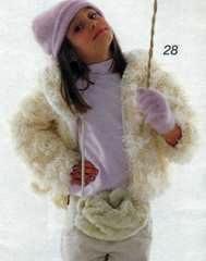 Вязаная детская курточка с капюшоном размеры 104,116 и 128