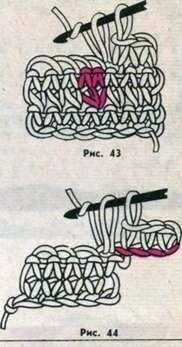 Схемы вязания коротким крючком для начинающих