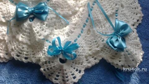 Детский плед крючком. Работа tori вязание и схемы вязания