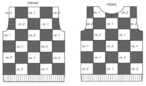 Расположение квадратов