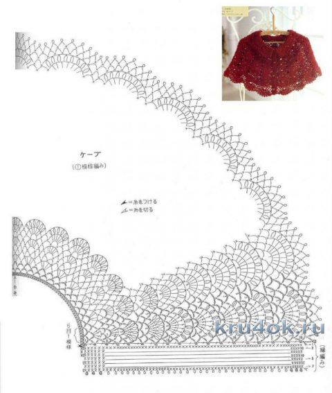 Ажурный сарафан для девочки и повязка для волос вязание и схемы вязания