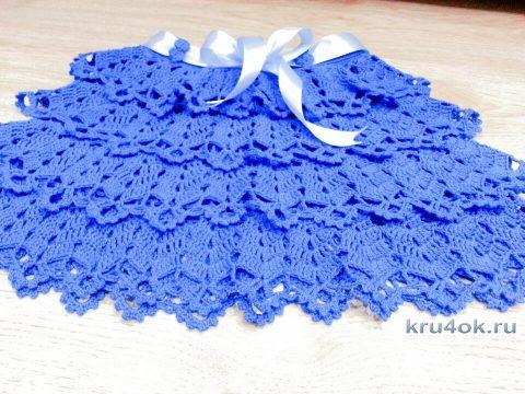 Юбка для девочки. Работа Ирины вязание и схемы вязания