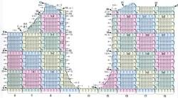 Разноцветный жакет в 2-х вариантах