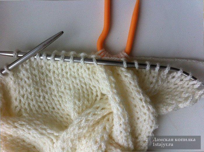 снуд,спицами,вязание,описание,для женщин