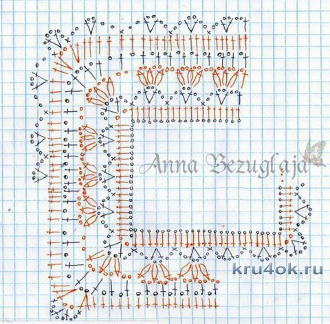 Схема вязания кофточек крючком