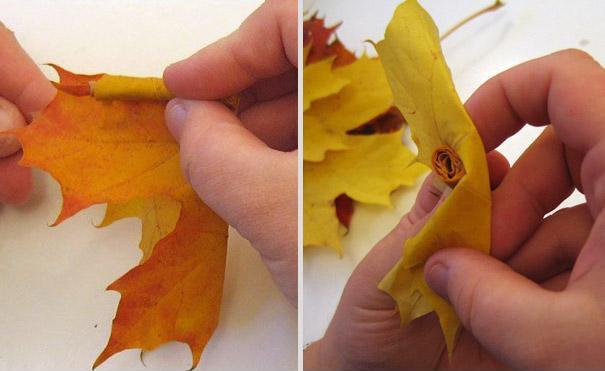 Букет из осенних листьев 1