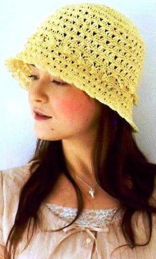 Вязание шляпы крючком