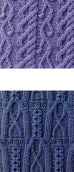 Схема вязания косы из 12 петель спицами фото 643