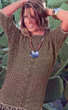 Вязание пуловер
