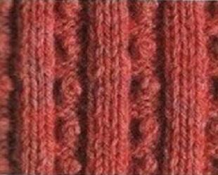 Вязание резинок спицами