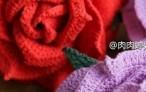 Вязание розы крючком
