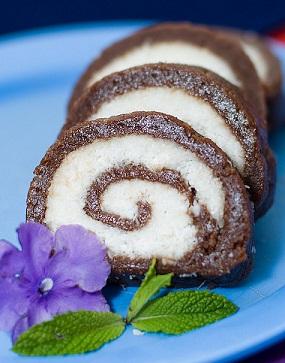 Рулет из печенья Баунти