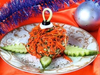 Салат Новогодний шар