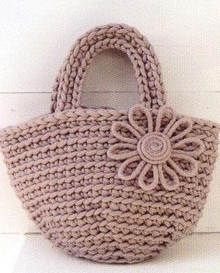 Схема сумки крючком