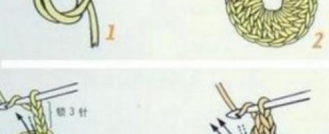 Столбики крючком