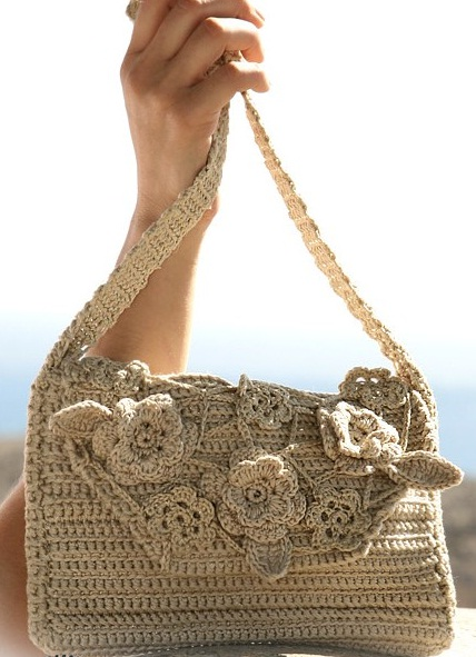 Летняя сумочка крючком.