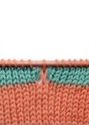 Уроки вязания спицами