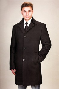 Стиль классика пальто мужское