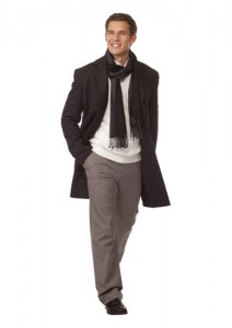 casual пальто мужское