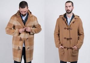 дафлкот пальто мужское
