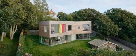 Дом у моря от студии Elding Oscarson