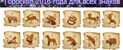 Гороскоп 2016 для всех знаков зодиака