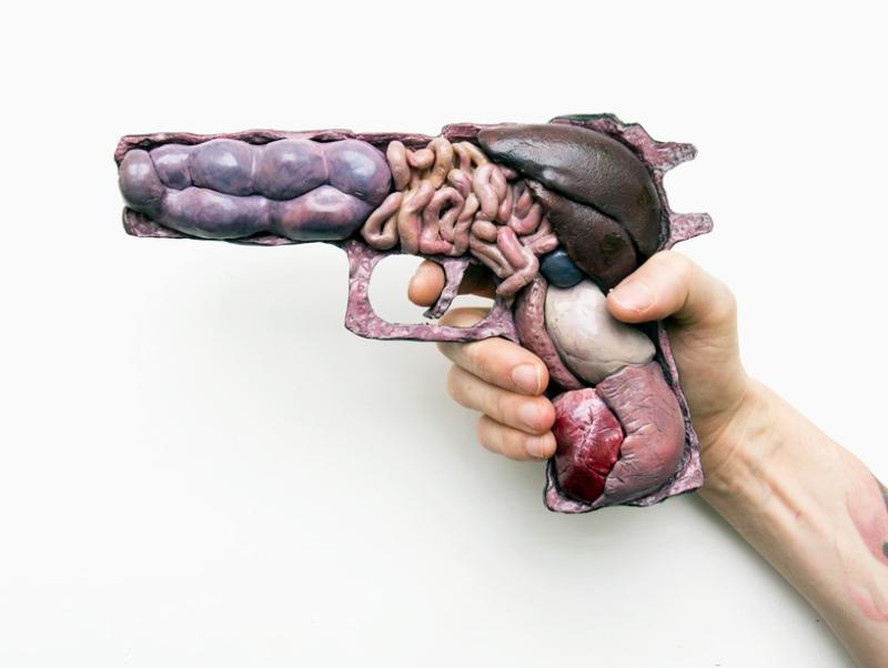 Кишки и прочая анатомия от Noah Scalin