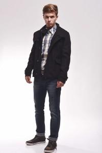 smart casual пальто мужское
