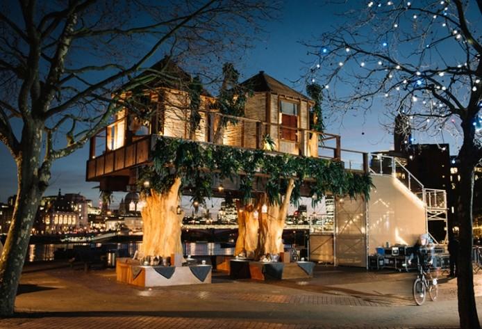 Роскошный дом на дереве для Virgin Holidays, Лондон, Великобритания