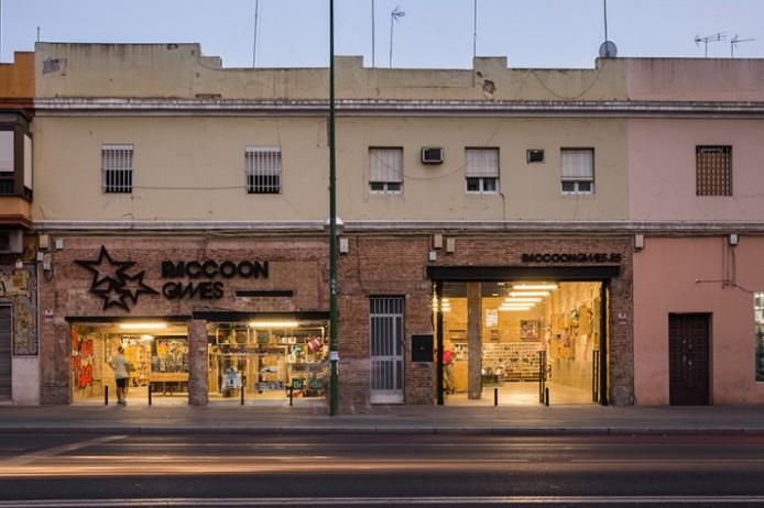 Магазин комиксов от Serrano + Baquero, Севилья, Испания.