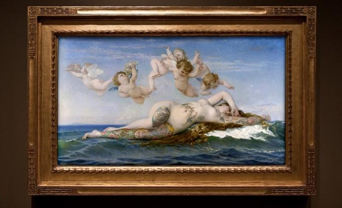 Венера в наколках от Nicolas Amiard
