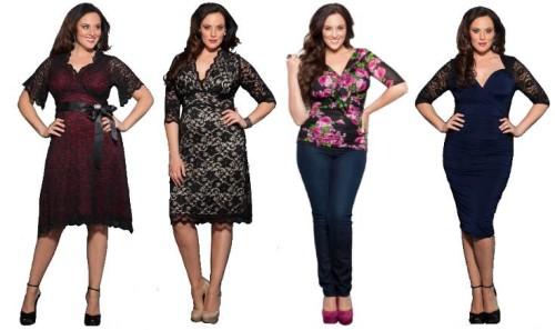 Советы по выбору одежды для полных дам