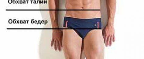 Размер мужских трусов, плавок