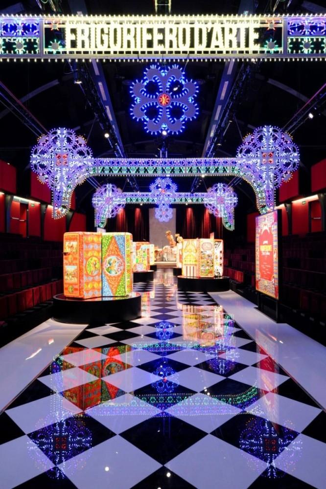 Стильный холодильник от Dolce&Gabbana поразил Милан