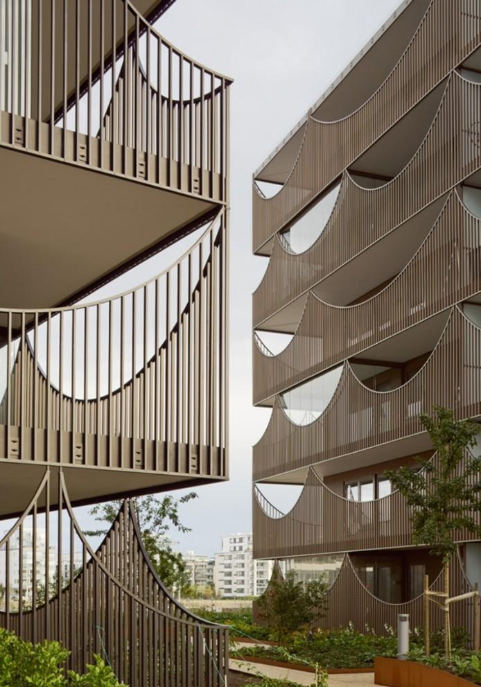 Перевернутые арки для балконов