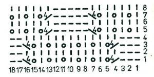 Мохеровый джемпер - схема вязания