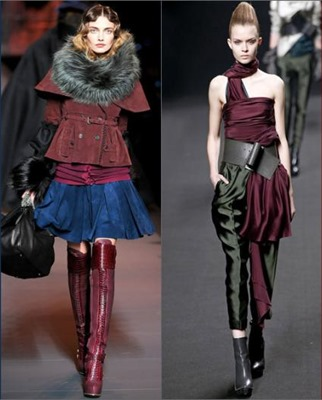 Модный 'борщ' зима 2013