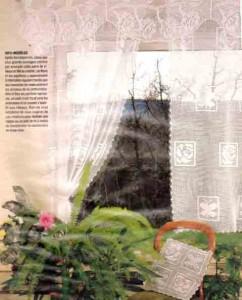 Вязаные шторы и занавески_ Vjazanye shtory i zanaveski