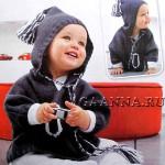 Детский джемпер с капюшоном