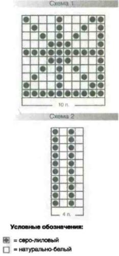 Схема 1, 2 и условные обозначения