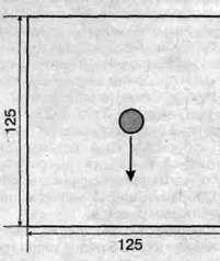 Вязаная шаль размер: 125x125 см