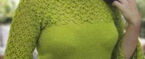 Блузка ажурная размер: 40