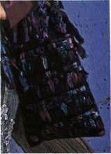 Вязаная сетчатая сумка размер: 26 х 31 см