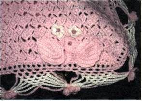 Розовое пончо размер: длина пончо 50 см