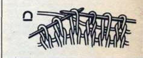 Узоры спицами с вытянутыми (снятыми) петлями, схемы